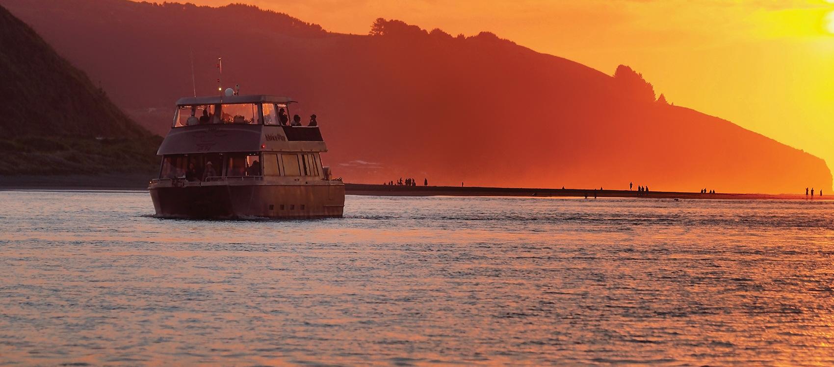 Wahinemoe Harbour Cruises